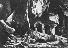 """ Parsifal "" 1.Aufzug  Wandeldekoration 1882  Entwurf Max Brückner"