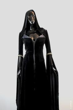 Legend of The Seeker (TV) (2008) costumes wardrobe Denee Black Confessor Complete Hero Costume