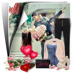 Love is in the air! Romwe.com contest by bebushkaj on Polyvore featuring moda, Dorothy Perkins and Forever New