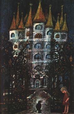 "Bernhard Nast -Fairy Tales ""by Hans Christian Andersen,1972"