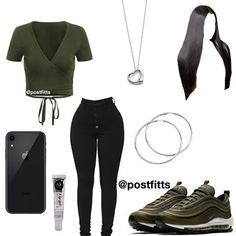 cute date outfits Swag Outfits For Girls, Boujee Outfits, Cute Swag Outfits, Teenage Girl Outfits, Cute Comfy Outfits, Cute Outfits For School, Teen Fashion Outfits, Dope Outfits, Girly Outfits