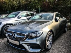 ✖️what about my new factorycar? Mercedes E Class Coupe, Mercedes Benz Amg, All Cars, Luxury Lifestyle, Luxury Cars, Dream Cars, Super Cars, Bang Bang, Bling Bling