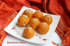 Jeyashri's Kitchen: MOTICHOOR LADOO |EASY DIWALI SWEET RECIPES| MOTICH...