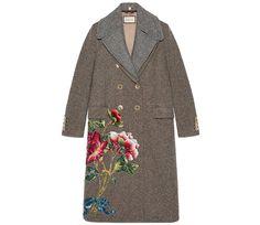 Зимний сад: 35 цветочных платьев, брюк, пальто, свитеров и даже шуб