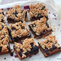 Blueberry almond bars Recipe - Roxana's Home Baking & ZipList