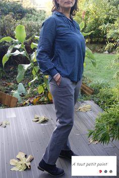 Mon premier pantalon de grande