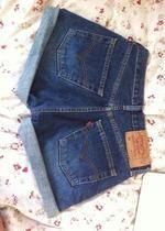spodenki jeansowe levis wysoki stan