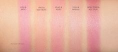 The Beauty Look Book Marc Jacobs Air Blush swatches