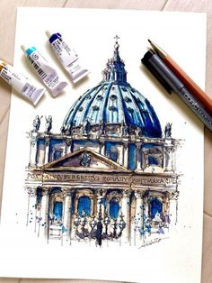 Travelling, Drawing and Painting