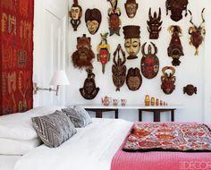 Arqteturas: Máscaras na decoração