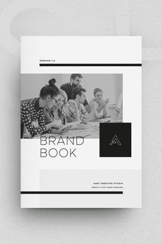 Architecture Portfolio Discover Brand Book - Ashi The ASHI Brand Book / Guidelines template is a minimal-inspired design with a focus on flexibility. Simply replace the logo and brand colors with your own or your clients. Magazine Design, Booklet Cover Design, Pag Web, Company Profile Design, Design Brochure, Web Design, Design Typography, Book Design Layout, Book Layouts