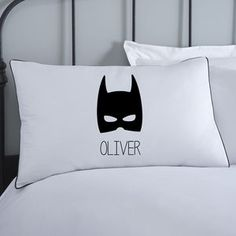 Superhero Boys Personalised Pillowcase