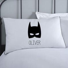 Superhero Boys Personalised Pillowcase
