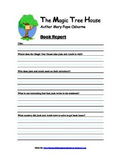 I plan to have our son who is entering 2nd grade read the Magic Tree House series during silent reading time for school. I have already read some o...