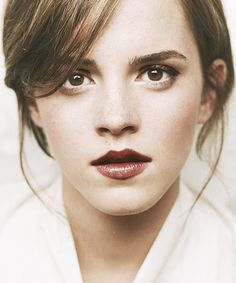 Emma..love her and her makeup