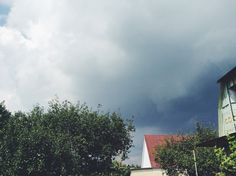 Something is up #summer #thunder #countryside #russia