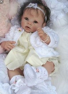 ❤️Beautiful Reborn Doll Baby❤️ Custom Made From Krista Kit By Linda Murray❤️
