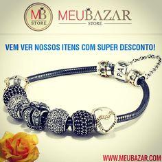 Lindos charms, berloques, clipes e muito mais para sua Pandora ou Vivara Life, todos em prata 925 e qualidade top, vem ver!  http://meubazar.com
