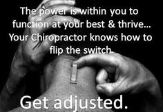 Get Adjusted! Chiropractic Benefits, Family Chiropractic, Chiropractic Wellness Center, Chiropractic Humor, Chiropractic Treatment, Chiropractic Office, Health Care, Alternative Health, Acupuncture