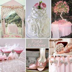 pink & silver wedding (repin)