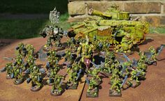 John's Toy Soldiers: Nurgle Army