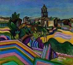 Collection Online | Joan Miró. Prades, the Village (Prades, el poble). summer 1917 - Guggenheim Museum