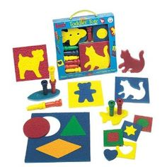 $11.36  Lauri Toys Toddler Tote ---  Stencils for drawing, pegboards, puzzles