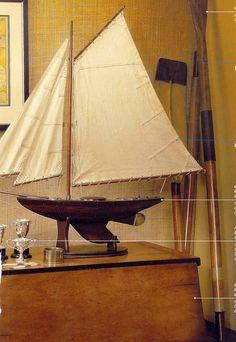 Pond Yacht, scale model