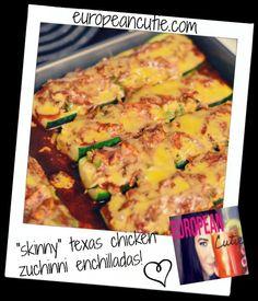 skinny texas chicken enchiladas on MyRecipeMagic.com