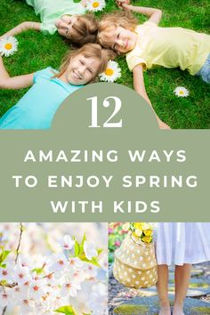 Enjoy the warmer weather and springtime beauty with this simple and easy ways to spend time with your kids. #spring #familytime #kids #parenting