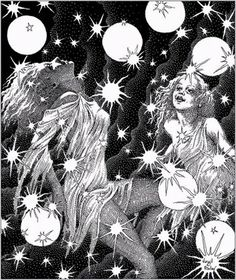 art of the beautiful-grotesque: The Art of Virgil Finlay: Part III
