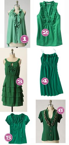 anthropologie knock off green inspirations for diys - Google Search