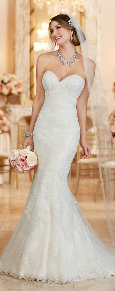 Stella York Fall 2016 Wedding Dress