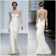 Rosa clará Barcelona bridal fashion week 201614