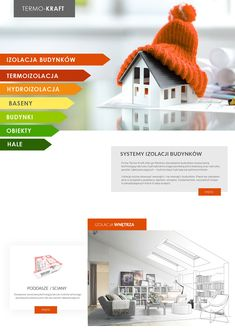Termo-Kraft - profesjonalne systemy izolacja budynków www.termo-kraft.pl . . #termo-kraft#izolacja #docieplanie #ocieplanie #home #developer #investment #eco #building #commerce #thermo #webdesign #gorzów #gdańsk #termoizilacja #diseño #diseñoweb #tworzenie #www #project Projects To Try, Web Design, Design Web, Website Designs, Site Design