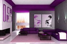 purple living room ideas decorating ideas 2016,modern style bedroom color