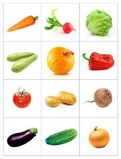 14 Printable Pictures Of Vegetables Fruit And Veg, Fruits And Vegetables, Fruit Fruit, Image Fruit, Vegetable Prints, Montessori Materials, Preschool Activities, Kids And Parenting, Lotus