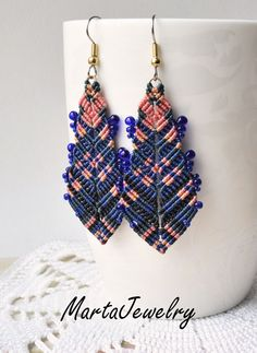 Bohemian feathers by MartaJewelry