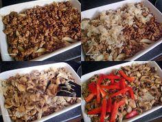 Apetyt i Smak: Zapiekanka z mięsem mielonym Cheesesteak, Pulled Pork, Oatmeal, Chicken, Meat, Breakfast, Ethnic Recipes, Food, Sport
