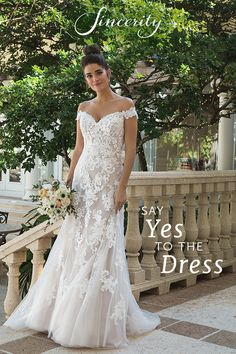 Wedding Dress 44075 by Sincerity Bridal - Search our photo gallery for pictures of wedding dresses by Sincerity Bridal. Find the perfect dress with recent Sincerity Bridal photos. Sincerity Bridal Wedding Dresses, Garden Wedding Dresses, Dream Wedding Dresses, Bridal Dresses, Ivory Wedding Gowns, Lace Dresses, Petite Wedding Dresses, Romantic Wedding Dresses, Spring Wedding Dresses