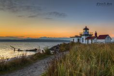 Photograph West Point Lighthouse at Dusk by Flynn L. Son on 500px