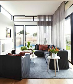 love your view? well don't obstruct it with clumpy curtains http://theflextrack.com/