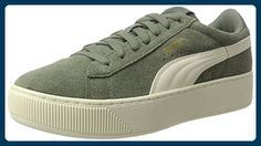 Suede Classic+, Sneakers Basses Mixte Adulte, Vert (Agave Green White 07), 41 EUPuma