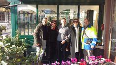 Armando in conpagnia di Iva Zanicchi, Corinne Clery , Giovanni Di Lonardo e Antonio . www.hotel-posta.it