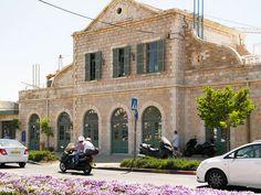Jerusalem, Israel - Public Spaces, First Station Railway Station (תחנת הרכבת ירושלים)