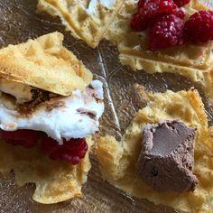 Waffles, Breakfast, Instagram, Food, Morning Coffee, Meals, Waffle, Morning Breakfast