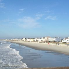 Hello garden city beach( view from the pier) Garden City Beach, Vacation Ideas, To Go, Southern, Places, Water, Life, Outdoor, Gripe Water