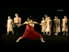 ▶ Le Sacre Du Printemps by Pina Bausch Wuppertal Dance Theater - YouTube