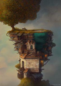 Surreal Illustrations by Gediminas Pranckevicius