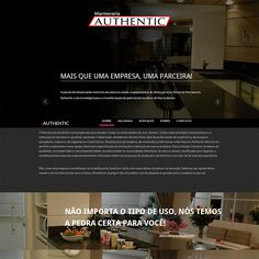 Website Marmoraria Authentic
